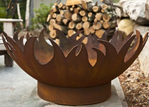 Blaze Firepit - Click to enlarge
